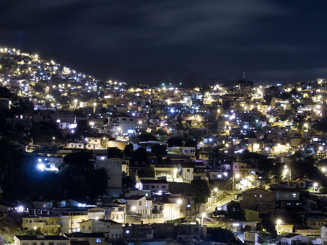 Belo Horizonte, Brazil at night