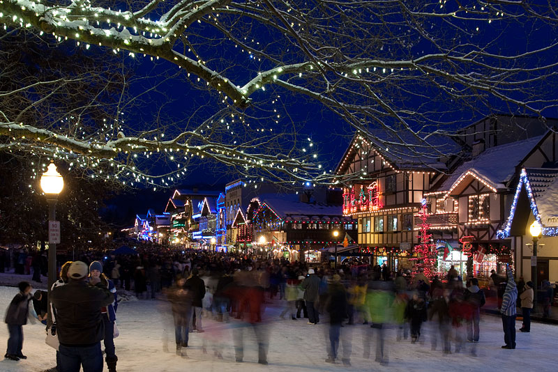 Leavenworth Christmas Lights.Leavenworth Washington Christmas Lighting Festival Cory