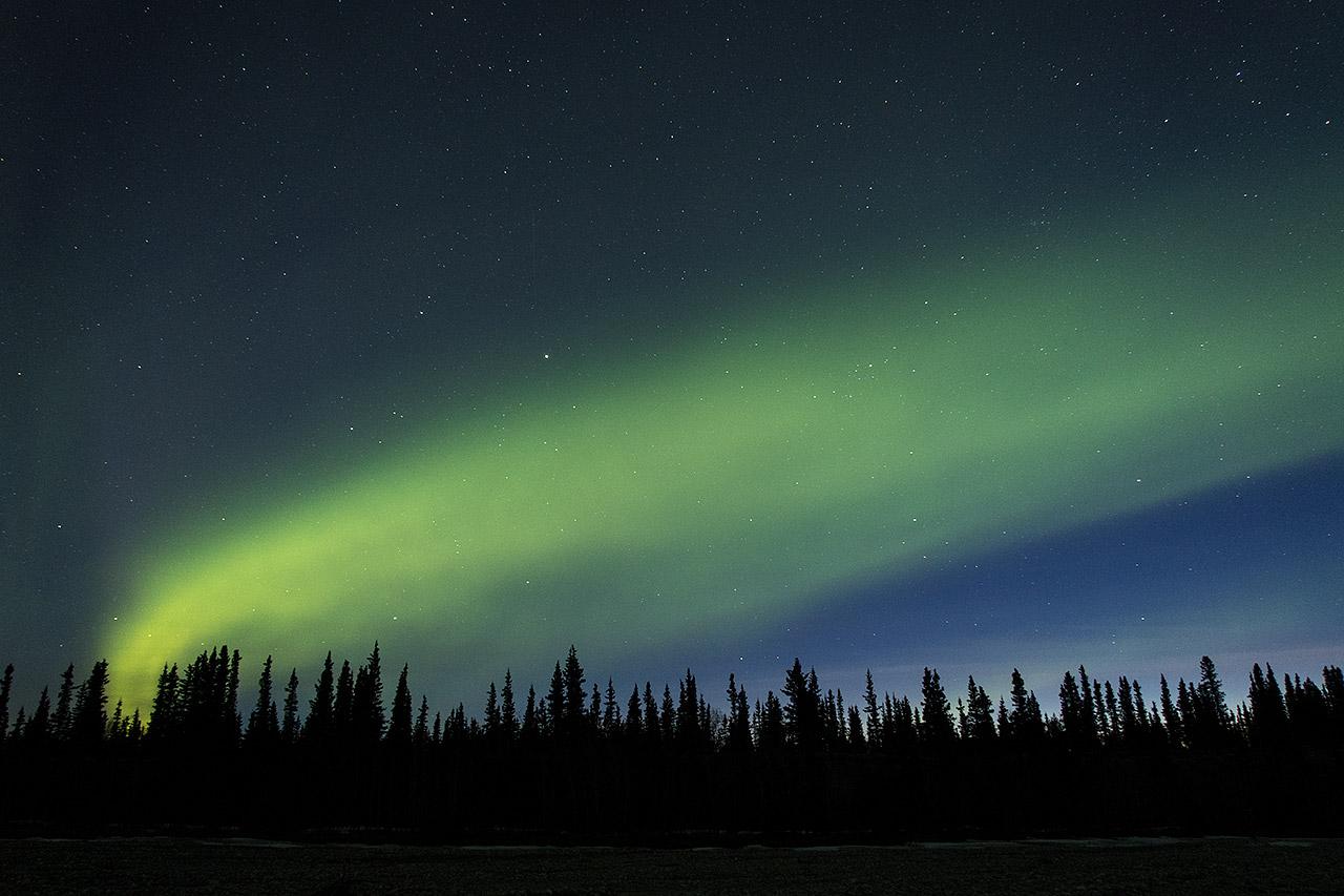 Northern Lights near Denali National Park - Alaska